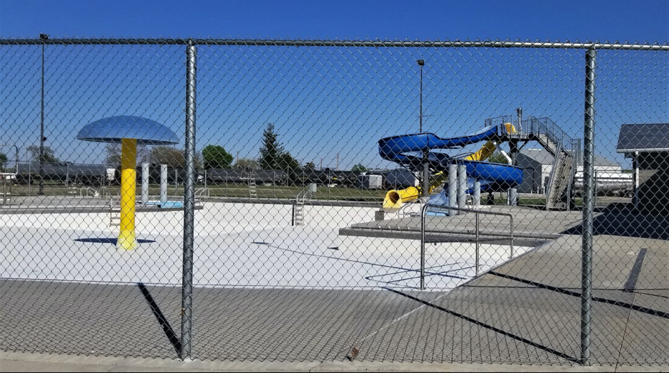 Image of the St. Paul water park.