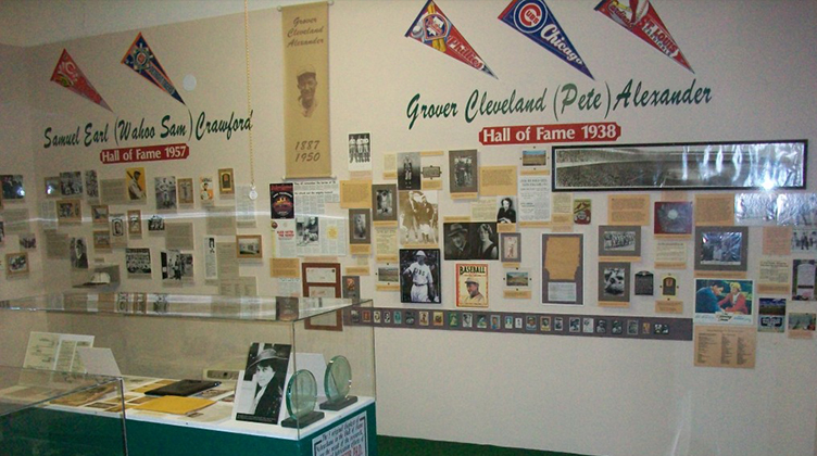 St. Paul, Nebraska Baseball Museum Interior