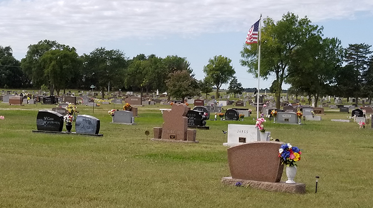 Gallery image of St. Paul, Nebraska cemetery